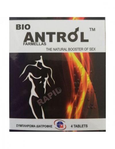 Medichrom Bio Antrol Farmellas - Φυσικός Ενισχυτής του Sex 4 Ταμπλέτες