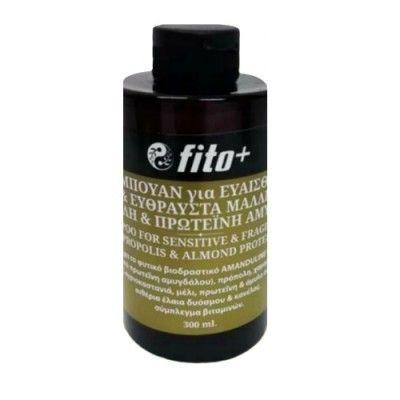 Fito+ Σαμπουάν Για Ευαίσθητα Και Εύθραυστα Μαλλιά Με Πρόπολη Και Πρωτεΐνη Αμυγδάλου 300ml