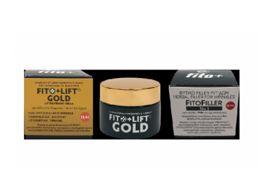 Fito+ Lift Gold 24ωρη Φυτική Κρέμα Προσώπου Με Βιοπολυμερές Filmexel 50ml + ΔΩΡΟ FitoFiller No1 10ml