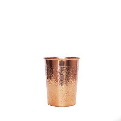 Forrest & Love Σκαλιστό Χάλκινο Ποτήρι Νερού 300ml