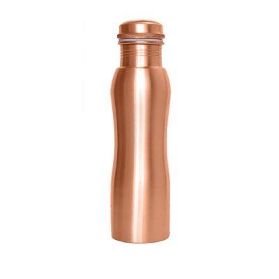 Forrest & Love Ματ Χάλκινο Μπουκάλι Νερού με καμπύλες 900ml
