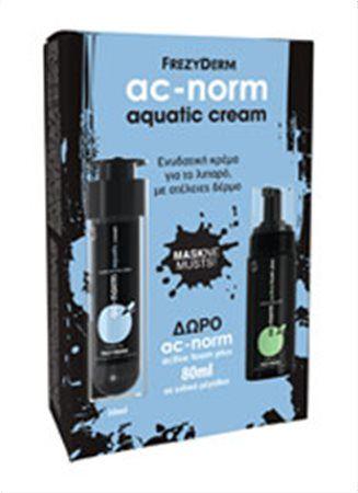 Frezyderm Ac-Norm Aquatic Cream 50ml + ΔΩΡΟ Ac-Norm Active Foam Plus 80ml