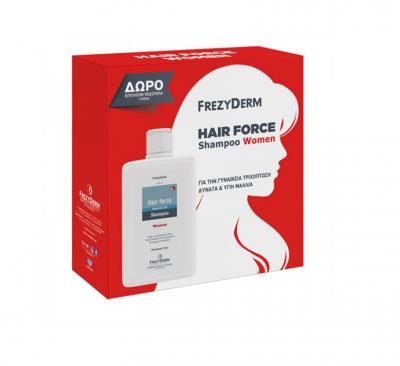 Frezyderm Hair Force Shampoo Women 200 ml με ΔΩΡΟ επιπλέον ποσότητα 100ml