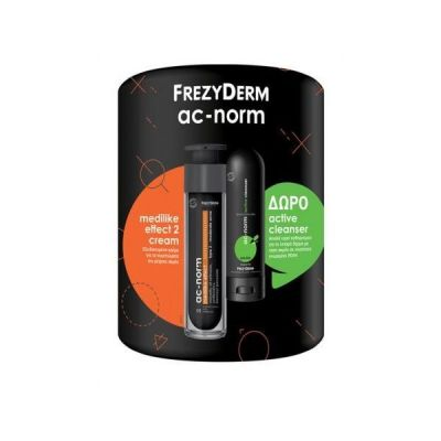 Frezyderm Set Ac-Norm Medilike Effect Cream No.2 50ml & Ac-Norm Active Cleanser 80ml