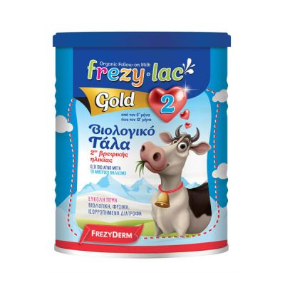 Frezylac Organic Milk Gold No2 Βιολογικό Γάλα 400gr