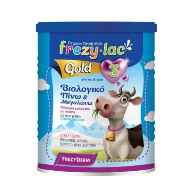 Frezylac Organic Milk Gold No3 Βιολογικό Γάλα 400gr