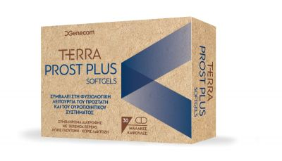 Genecom Terra Prost Plus Softgels 30caps