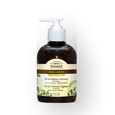 Green Pharmacy Gel Καθαρισμού της Ευαίσθητης Περιοχής με Tea Tree & Calendula 370ml