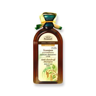Green Pharmacy Σαμπουάν Birch-Tar & Zinc Κατά της Πιτυρίδας 350 ml