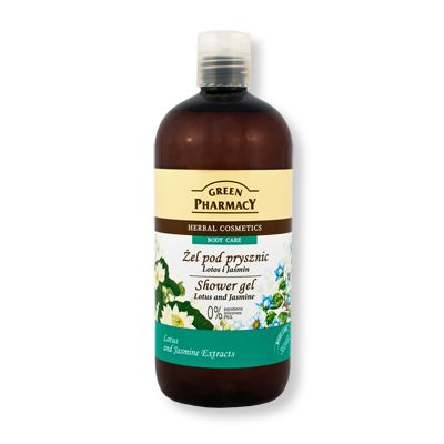 Green Pharmacy Shower Gel Lotus & Jasmine 500ml