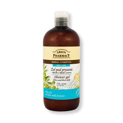 Green Pharmacy Shower Gel Olive Oil & Rice Milk 500ml