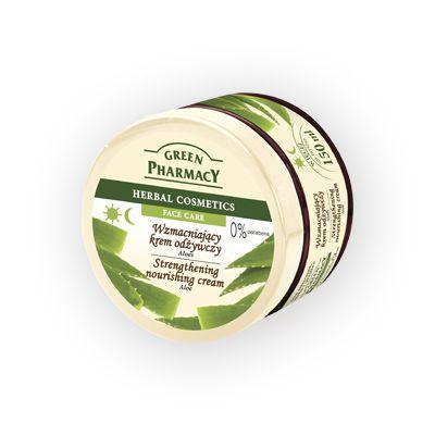 Green Pharmacy Ενισχυτική και Θρεπτική Κρέμα Προσώπου Aloe 150ml
