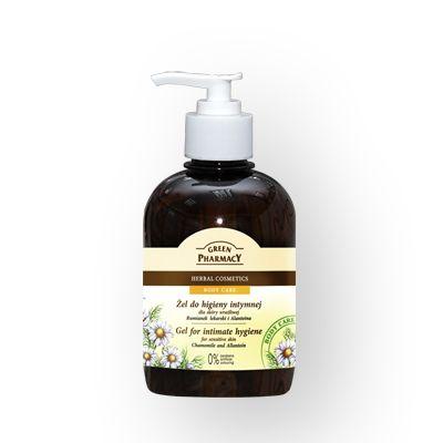 Green Pharmacy Gel Καθαρισμού της Ευαίσθητης Περιοχής Chamomile & Allantoin 370ml