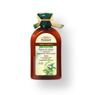 Green Pharmacy Μαλακτική Κρέμα Μαλλιών για Κατεστραμμένα, Εύθραυστα & Αδύναμα Μάλλια 300ml