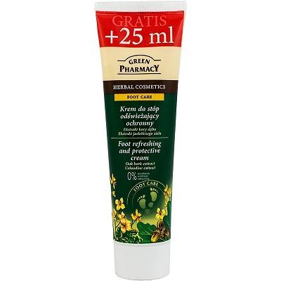 Green Pharmacy Κρέμα Ποδιών Δροσίζει & Προστατεύει 75ml