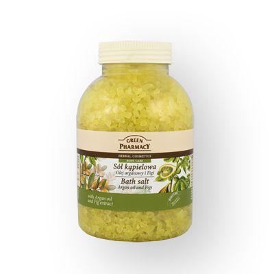 Green Pharmacy Άλατα Μπάνιου Argan oil & Figs 1300kg