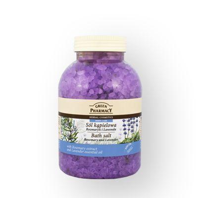 Green Pharmacy Άλατα Μπάνιου Rosemary & Lavender 1300kg