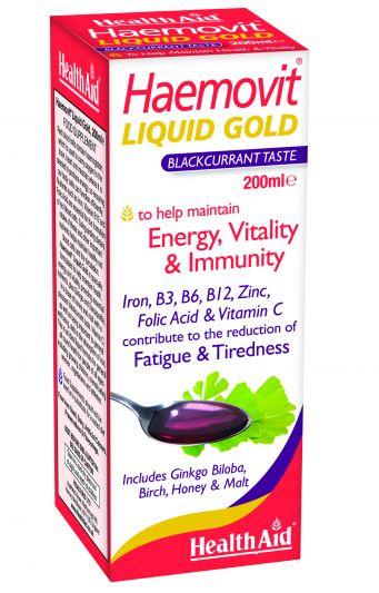 Health Aid Haemovit Liquid Gold 200ml