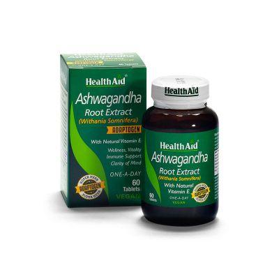 Health Aid Ashwagandha 60 Ταμπλέτες