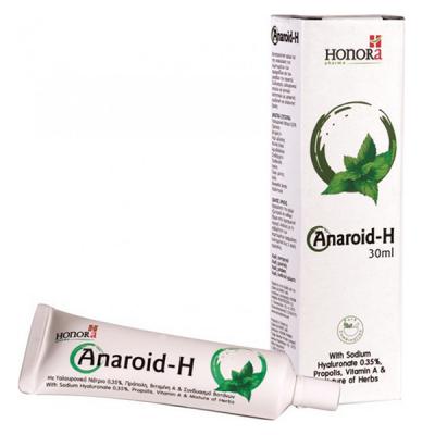 Honora Anaroid-H Κρέμα Προστασίας, Πρόληψης και Φροντίδας των Αιμορροϊδων 30ml