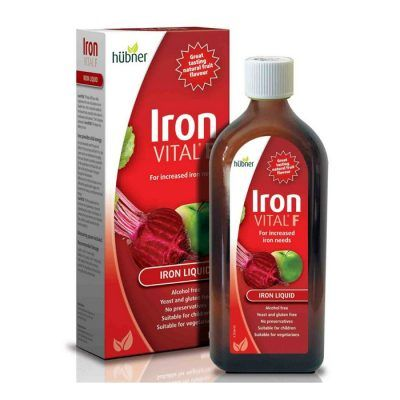 Hubner Iron Vital F, Σίδηρος 250ml