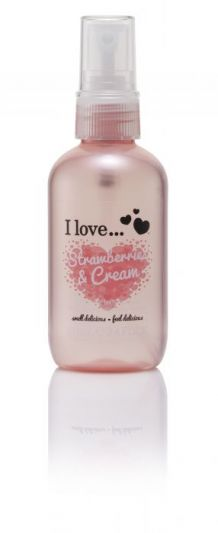 I Love...Refreshing Body Spritzer Strawberries & Cream 100ml
