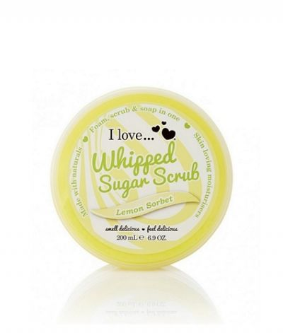 I Love...Whipped Sugar Scrub Lemon Sorbet 200ml