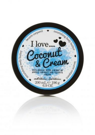 I Love...Body Butter Coconut & Cream 200ml