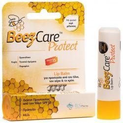 ILS Pharma BeezCare Protect Lip Balm για Προστασία από τον Ήλιο, τον Αέρα & το Κρύο SPF15 5.1g
