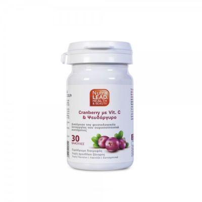 Nutralead Cranberry με Βιταμίνη C & Ψευδάργυρο 30 κάψουλες