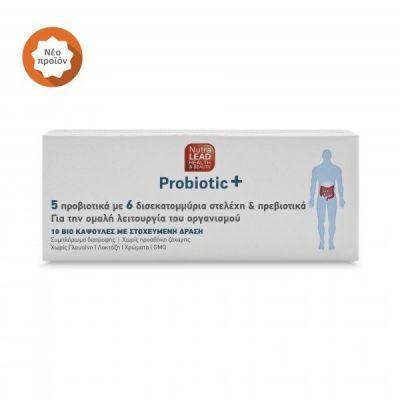 Nutralead Probiotic+ 10κάψουλες