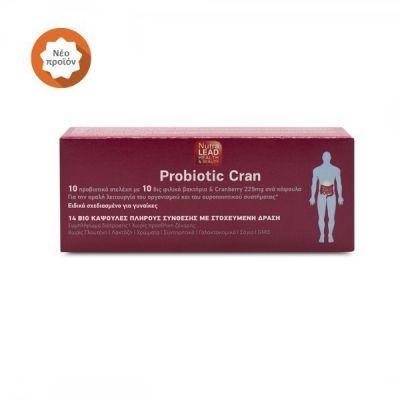 Nutralead Probiotic Cran 14 κάψουλες