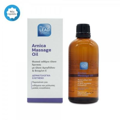 Pharmalead Arnica Massage Oil 100ml