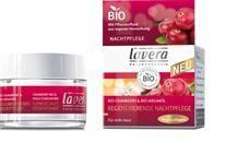 Lavera Facial Care Κρέμα Αναδόμησης Νυχτός με Βιολογικό Cranberry και Βιολογικό Αργανέλαιο 50ml