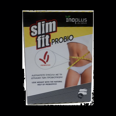 Inoplus Slim Fit Probio 15 Κάψουλες