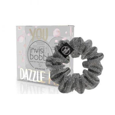 Invisibobble® - Λαστιχάκι Μαλλιών You Dazzle Me Dark Silver 1τμχ
