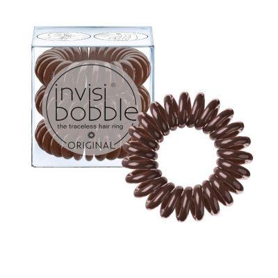 Invisibobble® Original - Λαστιχάκι Μαλλιών Pretzel Brown 3 τμχ