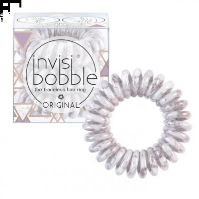 Invisibobble Original Marblelous Purple Grey Λαστιχάκι Μαλλιών 3τμχ