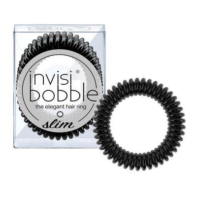 Invisibobble® Slim - Λαστιχάκι Μαλλιών True Black