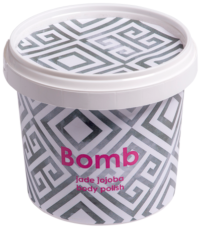 Bomb Cosmetics Jade Jojoba Body Polish 365ml
