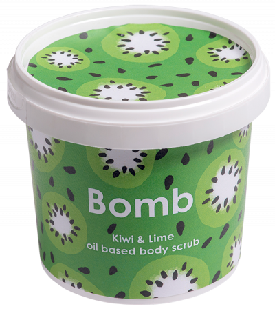 Bomb Cosmetics Kiwi & Lime oil based Body Scrub 365ml