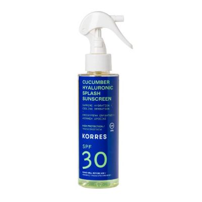Korres Cucumber & Hyaluronic Splash Sunscreen SPF30 150ml