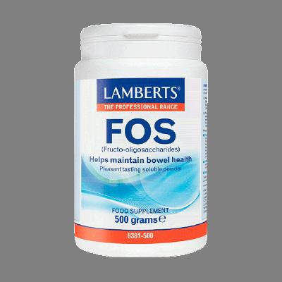 Lamberts FOS (Fructo-oligosaccharides) 500 grams