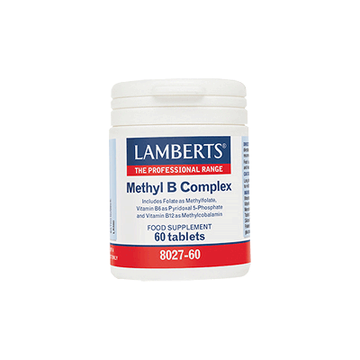 Lamberts Methyl B Complex Συμπλήρωμα Βιταμινών Συμπλέγματος B, 60 Ταμπλέτες