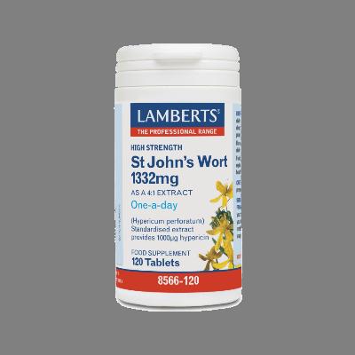 Lamberts St. John's Wort Βαλσαμόχορτο 1332mg, 120 Ταμπλέτες