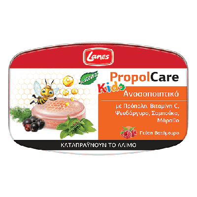 Lanes PropolCare Kids Βατόμουρο 54gr