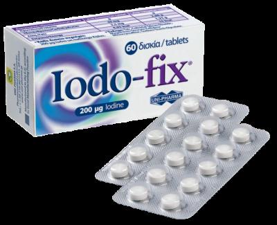 Unipharma Lodo-Fix 200μg 60tabs