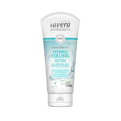 Lavera  Basis Sensitiv Σαμπουάν και Αφρόλουτρο (Για Τα Μαλλιά Και Το Σώμα) 200ml