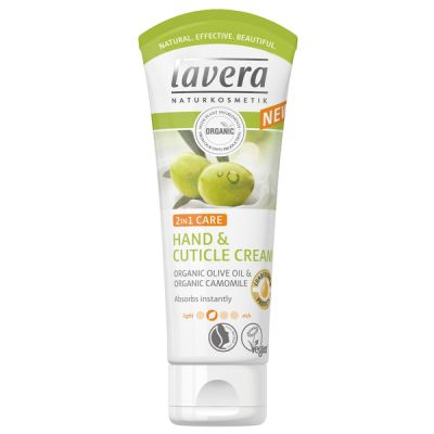 Lavera Body Spa 2σε1 Κρέμα Χεριών Και Απομάκρυνσης Παρανυχίδων 75ml