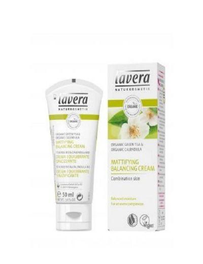 Lavera Facial Care Εξισορροπητική Κρέμα Προσώπου Για Ματ Όψη Με Βιολογική Καλεντούλα & Βιολογικό Πράσινο Τσάι 50ml
